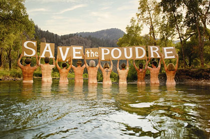SaveThePoudre Poster - $10 suggested donation